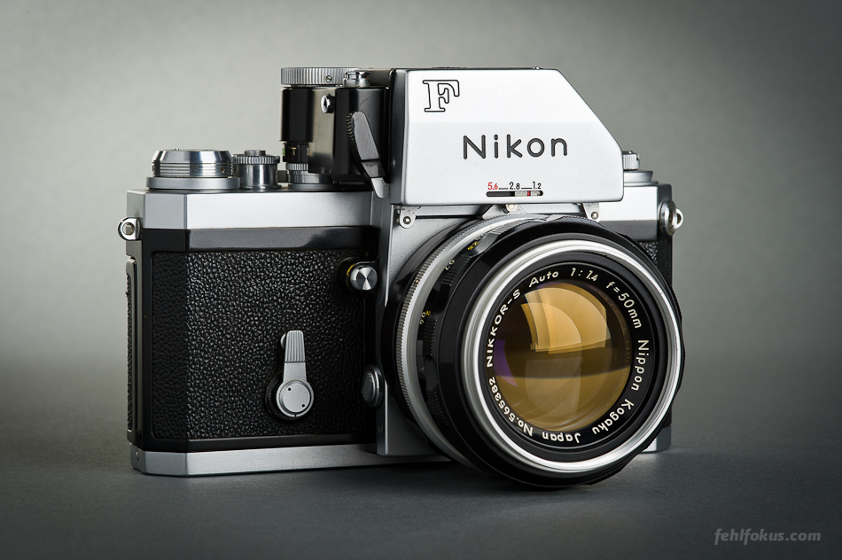 Nikon F Photomic FTn Nikkor-S Auto f/1.4 Nippon Kogaku
