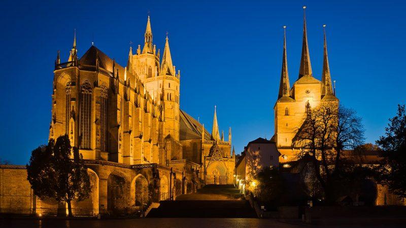 Erfurter Dom und Severi Kirche